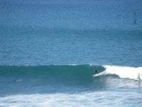 Las olas en la villa