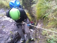 Adrenaline and abseiling