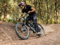 Siente la adrenalina de bajar por la montaña en bici