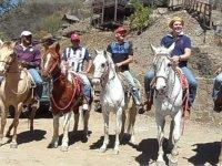 Prepárate para un recorrido en caballo
