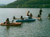 Navega en Kayak por la presa de la boca