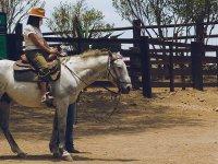 Monta un caballo en nuestro ecoparque