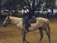 Contamos con paseo a caballo hasta para los más chiquitos