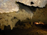 Stalactite and stalagmite caves