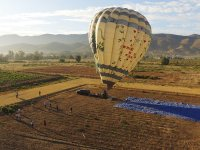 Take off in a balloon through the vineyards of Valle de Guadalupe