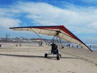 Fly over the coast of Baja California