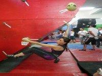 Gym type boulder