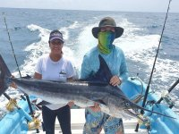 Pesca deportiva en pareja