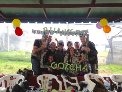 Party Pack with Gotcha 300 bullets CDMX 10 pax