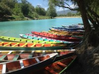Canoes of colors