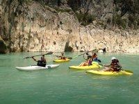 Rowing in Huasteca