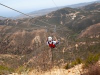 Launch yourself in our 5 zip lines