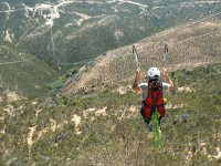 One of the largest Zip-lines in Baja California