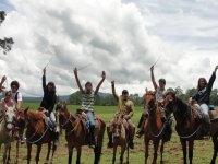 Todos a caballo