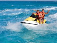 Excitement and adrenaline on a jetski