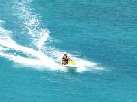 Speed and fun on a jet ski