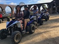 Come with your friends and family to ride an ATV