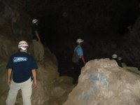 Guides in caves