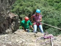 descent with rope