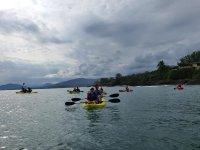 Kayak en Playa Ermita