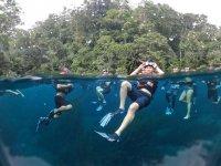 Snorkel con amigos