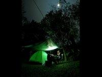 Camping de noche Veracruz
