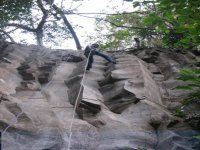 Rappelling in Jalco
