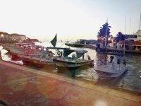Huatulco harbor