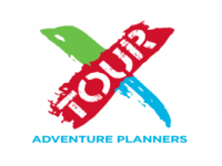 Logo x tours adventure planners