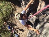 Subiendo la roca