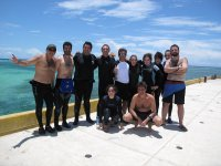 Meet diving enthusiasts