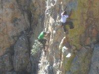Climbing in company