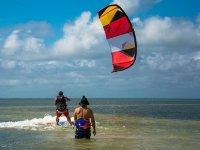 kitesurf en el caribe