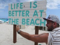 la vida es mejor en la playa