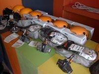 Zip-lines and equipment