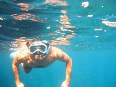 dive with ruben Snorkel