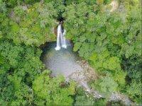 scenery of waterfalls in coatzalan