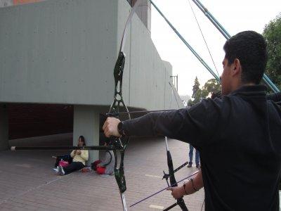 Equipo de Tiro con Arco de Alberca Olímpica