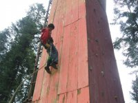 En la escalada dsifrutando