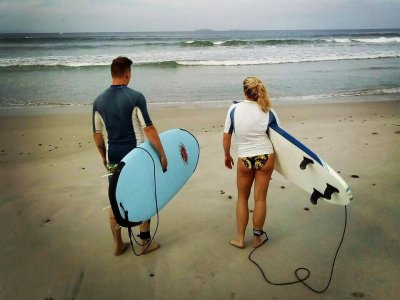 3 hour surf class, Punta Mita