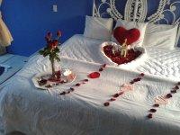 Cena y decoracion romantica
