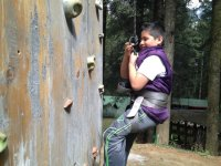 In the climbing