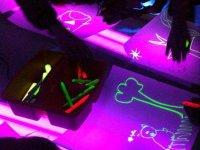Dibujando fluorescente