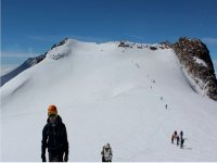 climbing the snow-capped mountain of Toluca with seemexico