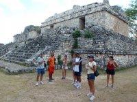 Rutas por las ruinas mayas