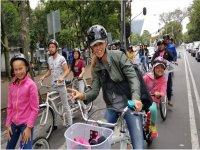 ride a bike through the CDMX