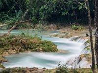 lagoons and waterfalls
