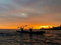 Observa un atardecer en un Kayak