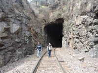 caminatas por tuneles