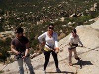Rappelling in group